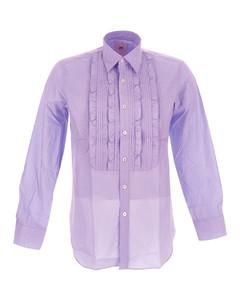 Pleated Single Breasted Jacket
