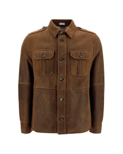 Grey garment-dyed cotton sweatshirt