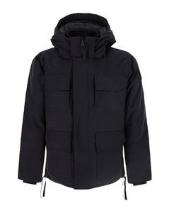 Casual canada goose black parka down jacket