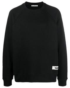 Label Logo Sweatshirt Knitwear Man