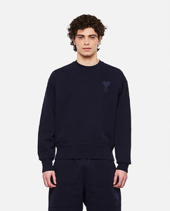 Crewneck cotton sweatshirt