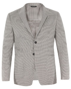 Leather-Panel Padded Gilet