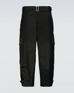 棉质锥形工装裤