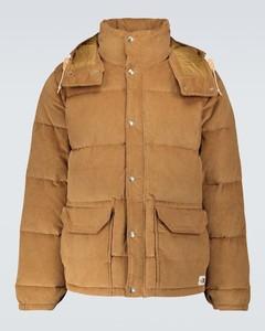 Sierra羽绒灯芯绒派克大衣