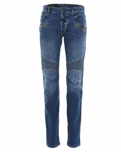 Ribbed Detail Jeans