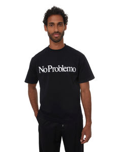 High-neck leather padded jacket