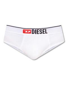 High-neck leather padded jacket