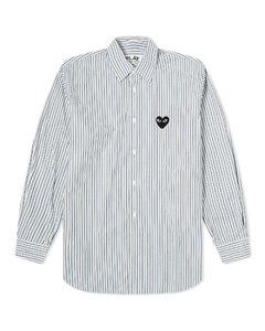 Play Black Heart Multi Stripe Shirt