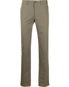Checked wool-blend twill overshirt