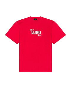 Boxy Tee in Red