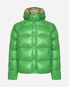 Suginami quilted nylon down jacket