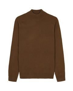 Navy blue turtleneck sweater