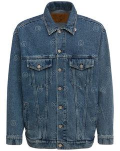 Oversize Cotton Denim Jacket