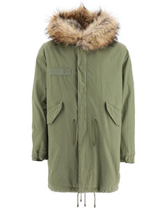 Parkas Mr & Mrs Italy for Men Army Natural Grey