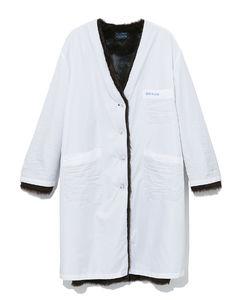 Nylon lab coat