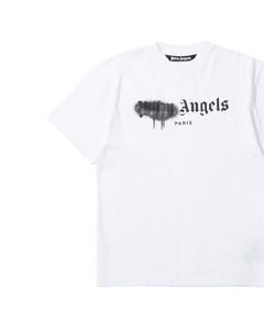 Paris sprayed logo tee