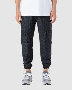 Curved logo crewneck sweater