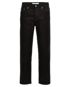 皮革双排扣夹克