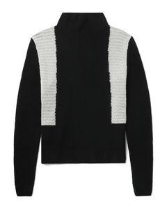 Heart-logo striped cotton t-shirt