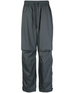 褶裥弹力棉质裤装