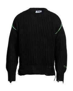 Skull Intarsia Sweater