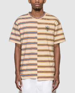 ELN Stripe Asymmetric T-Shirt