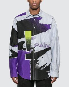 Oversize Striped Oxford Shirt
