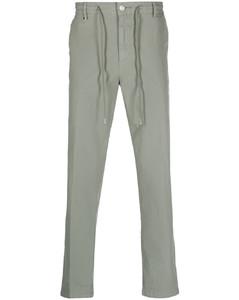 人字纹西装裤装