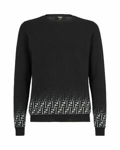 faded FF motif jumper