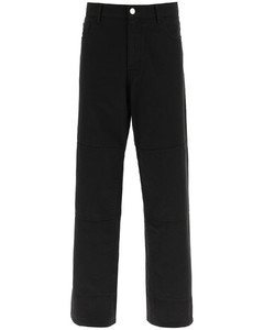 WORKWEAR JEANS WITH KNEE PATCHES