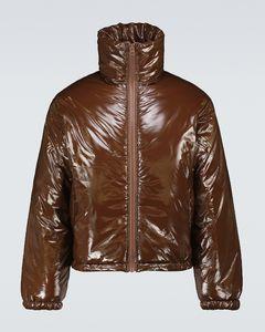 Oggy尼龙填充夹克