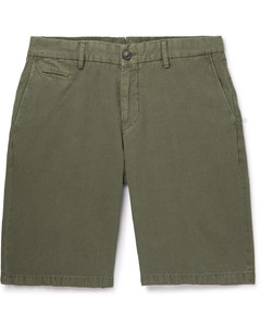 Piped Mesh-Panelled Tech-Jersey Trousers
