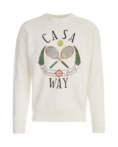 Casaway Tennis Club Digital Print Raglan