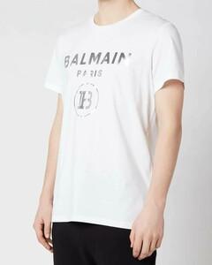 Men's Silver Foil T-Shirt - White