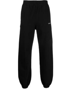 crew-neck fleece sweatshirt