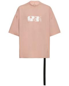 Green logo hooded cotton sweatshirt