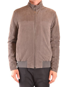Cashmere pullover in melange brown