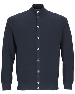 Cashmere pullover in light blue
