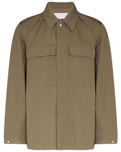 Black lace-appliquéd jersey sweatshirt