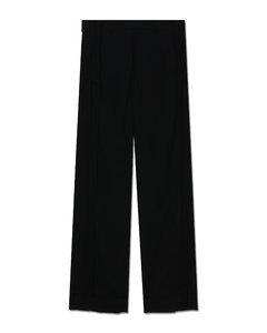 Hooded Nylon & Jersey Vest