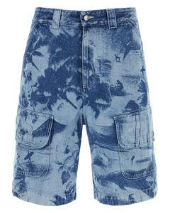 S.G. Crack Pants Blue