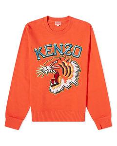generic logo fleece sweatpant red