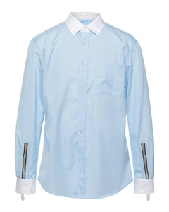Flame-print denim jacket