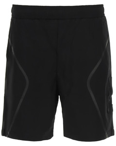 SHORTS WITH HEAT-SEALED BANDS