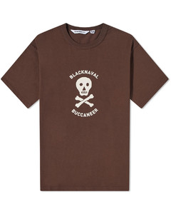 Hooded contrast-panel puffer jacket