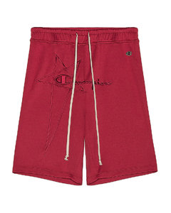 x Champion Classic Jersey Shorts in Red