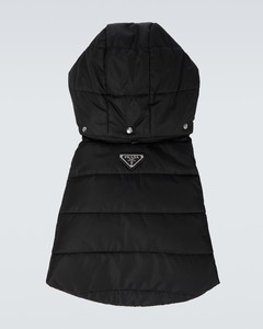 Nylon pet puffer jacket