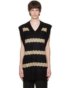 S.G. Logo Striped Shirt Blue