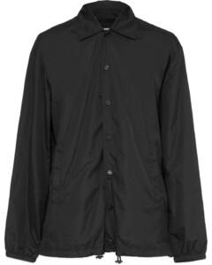 Icon Coach Windbreaker Jacket - Black