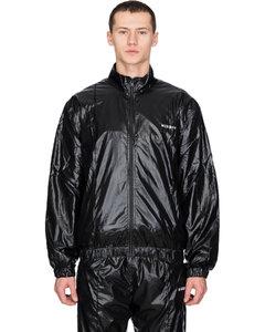 Techno Nylon Tracksuit Jacket - Black